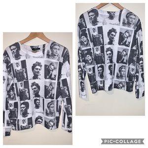 Forever 21 Frida Kahlo sweatshirt no size